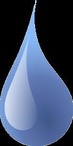 drop, water, rain